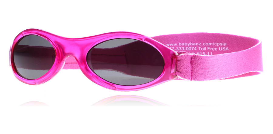 Image of   Baby Banz Adventure 0-2 Years Solbriller Pink Adventure 0-2 Years 45mm