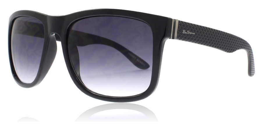 Image of   Ben Sherman Harry Solbriller Sort BLK 60mm