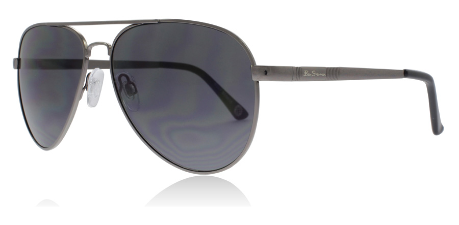 Image of   Ben Sherman Billy Solbriller Stålfarvet GMTL 63mm