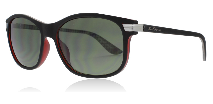 Image of   Ben Sherman Portobello Solbriller Sort BLK 56mm