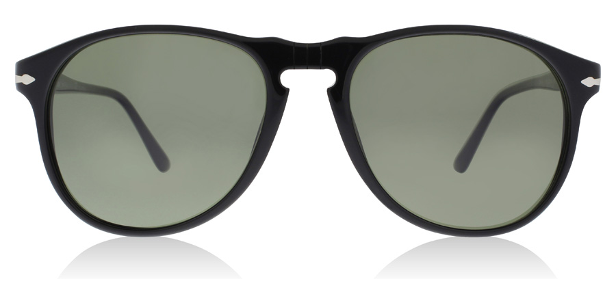 Persol PO6649S Sort 95/58 55mm Polariseret