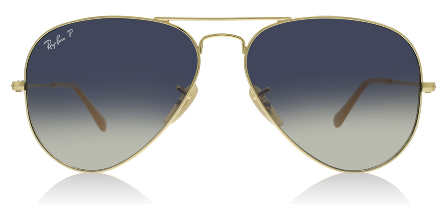 Ray-Ban RB3025 Guld 001/78 58mm Polariseret