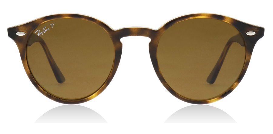 Ray-Ban Turtledove RB2180 Blank Mørk Havana 710/83 49mm Polariseret