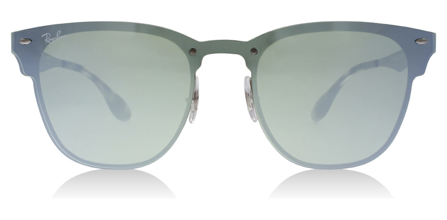 Ray-Ban RB3576N Blaze Sølv / Grøn 042/30 41mm