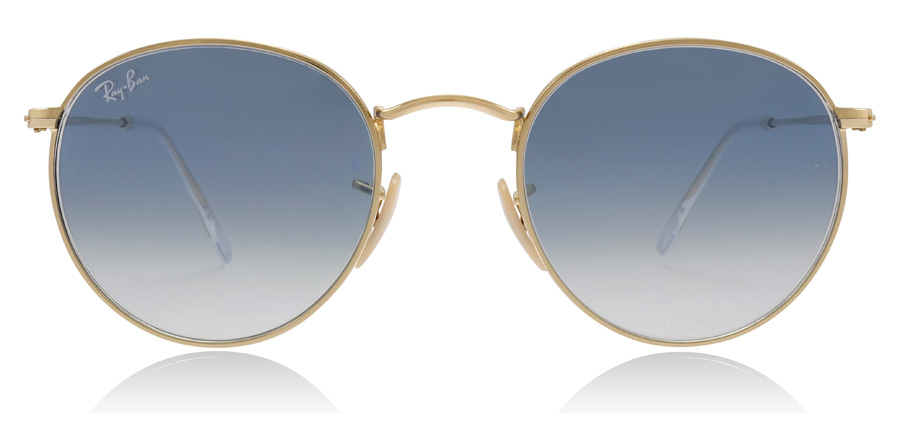 Ray-Ban Round Flat RB3447N Arista 001/3F 50mm