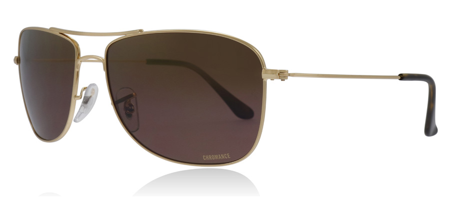 5132920642aa Ray-Ban RB3543 Solbriller   RB3543 Blank Guld RB3543 59Mm   DK