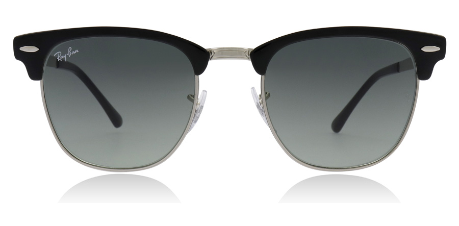 Ray-Ban Clubmaster RB3716 Sølv / Sort 900471 51mm