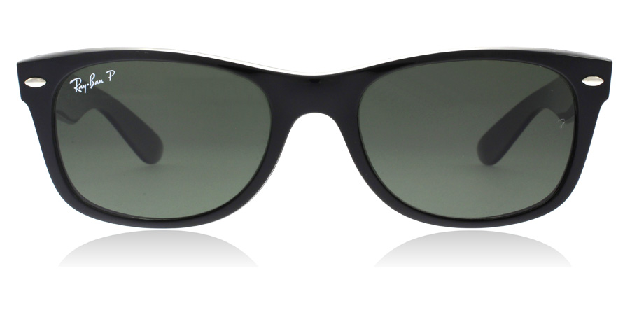 Ray-Ban RB2132 New Wayfarer Sort 901/58 58mm Polariseret