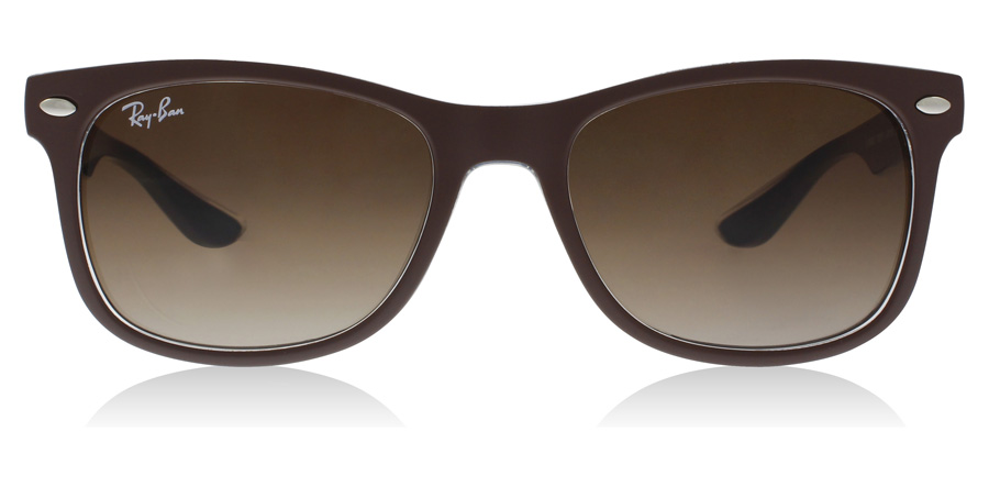 Ray-Ban Junior RJ9052S Age 12-15 Years Mat Brun 703513 48mm