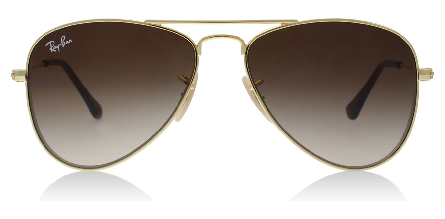 Ray-Ban Junior RJ9506S Age 4-8 Years Guld 223/13 50mm