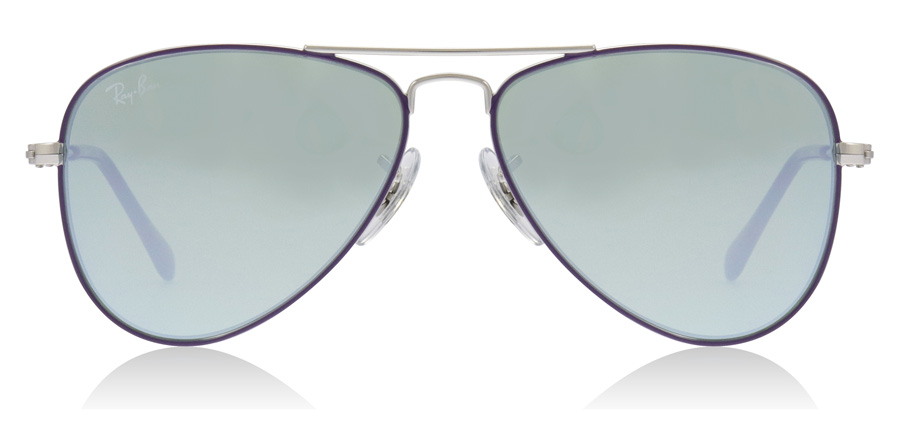 Ray-Ban Junior RJ9506S Age 4-8 Years Sølv/Violet 262/30 50mm