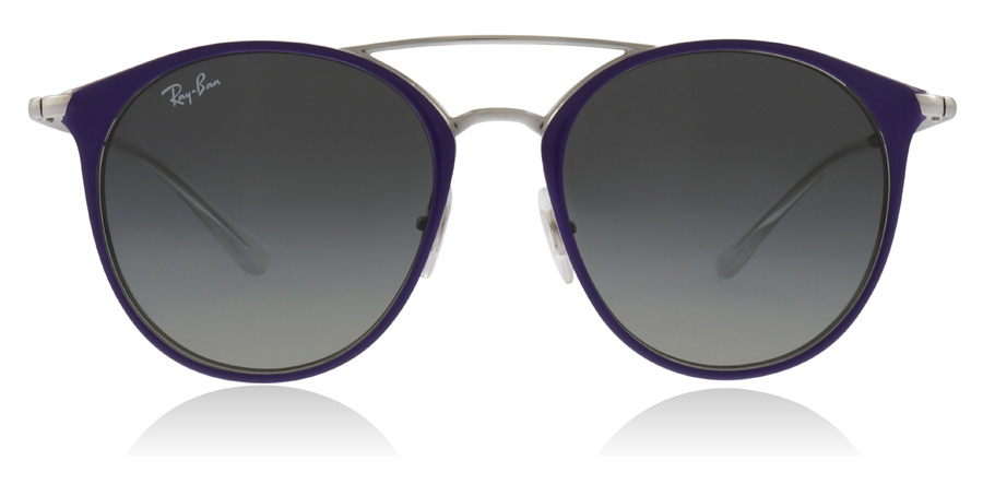 Ray-Ban Junior RJ9545S 7-10 Years Sølv / Violet 272/11 47mm