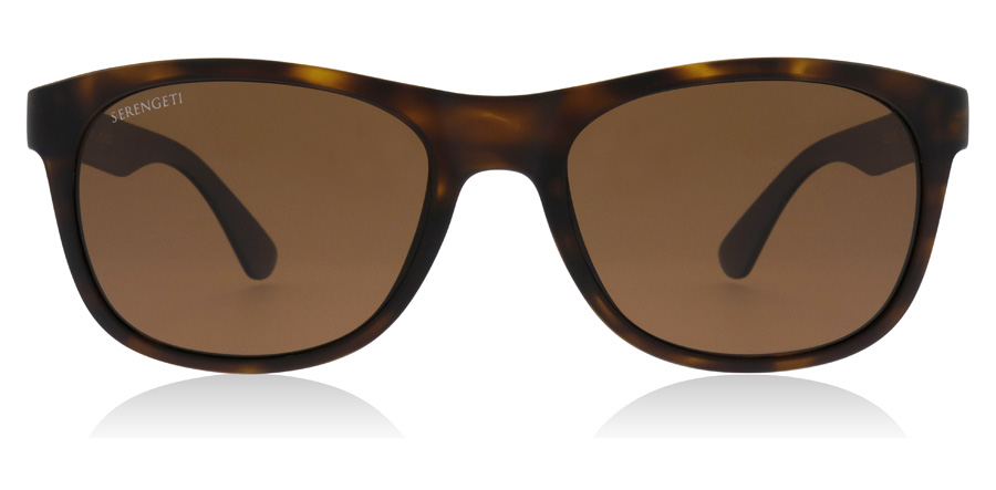 Serengeti Anteo 8669 Satin Tortoise / Sort Black 55mm Polariseret