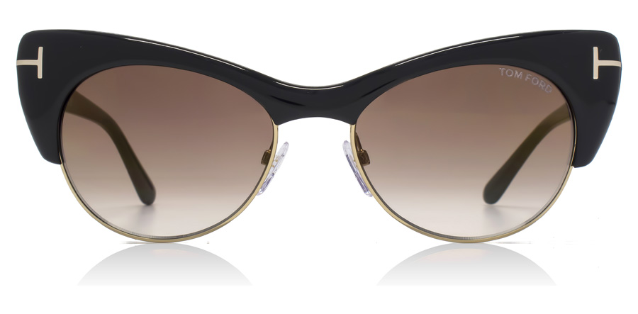 Tom Ford FT0387 Lola Shiny Black 01G 54mm