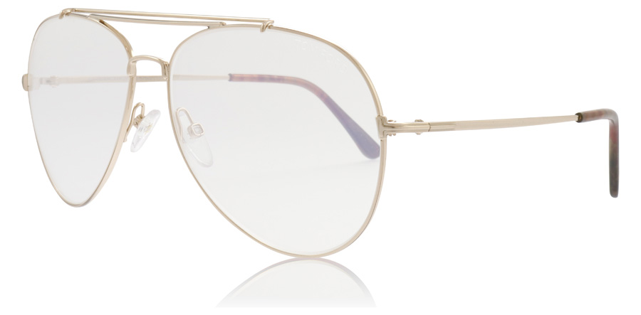 Tom Ford Indiana FT0497 Shiny Rose Gold 028 60mm