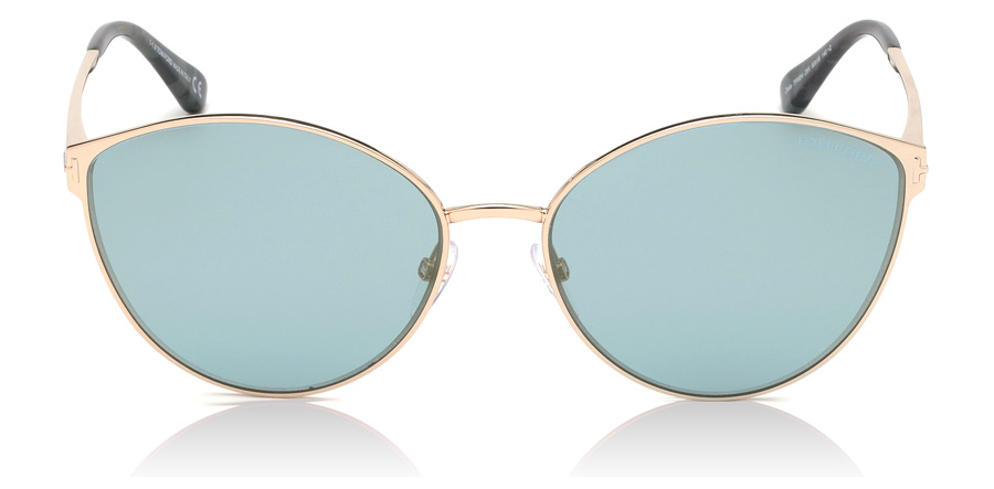Tom Ford FT0654 Zeila Shiny Rose Gold 28X 60mm