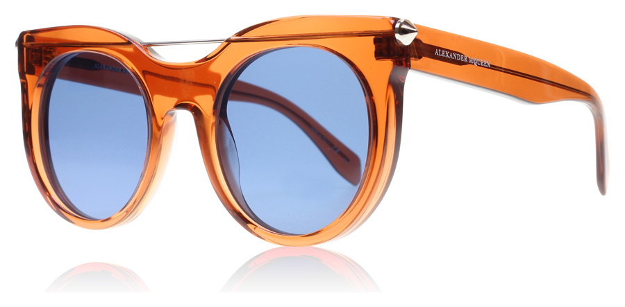 Image of   Alexander McQueen AM0001S Solbriller Orange AM0001S 52mm