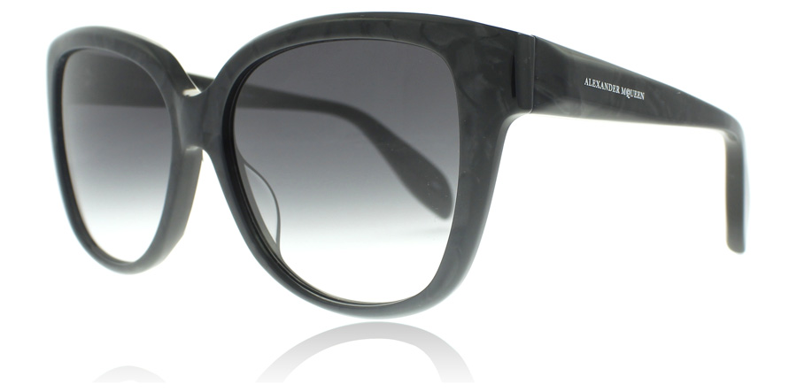 Image of   Alexander McQueen AM0041S Solbriller Grå 003 57mm
