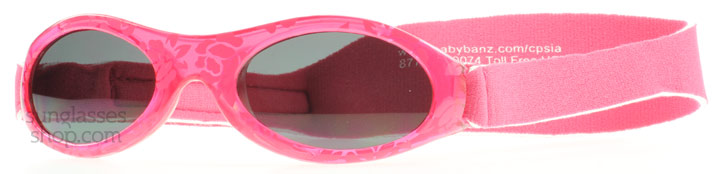 Image of   Baby Banz Adventure 0-2 Years Solbriller Fuchsia Rød Adventure 0-2 Years 45mm