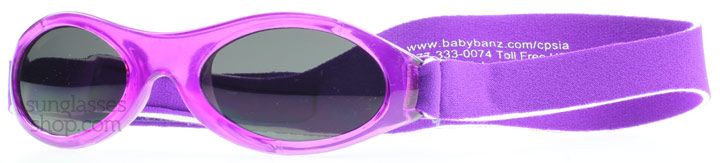 Image of   Baby Banz Adventure 0-2 Years Solbriller Lilla Adventure 0-2 Years 45mm