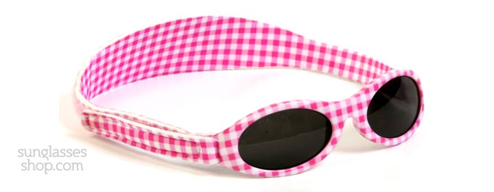 Baby Banz Adventure 0-2 Years Pink Gingham 45mm