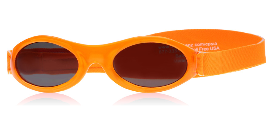 Image of   Baby Banz Adventure 0-2 Years Solbriller Orange Adventure 0-2 Years 45mm