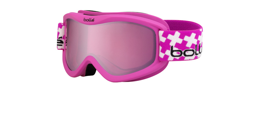 Image of   Bolle Junior Volt Plus Mat Pink Cross 21362 83mm