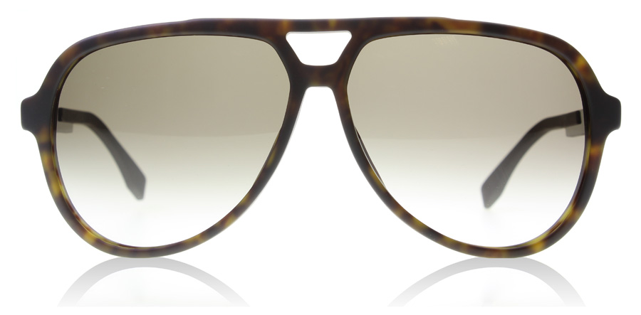 Hugo Boss 0731/S Mørk Havana/Carbon Brun KD2 60mm