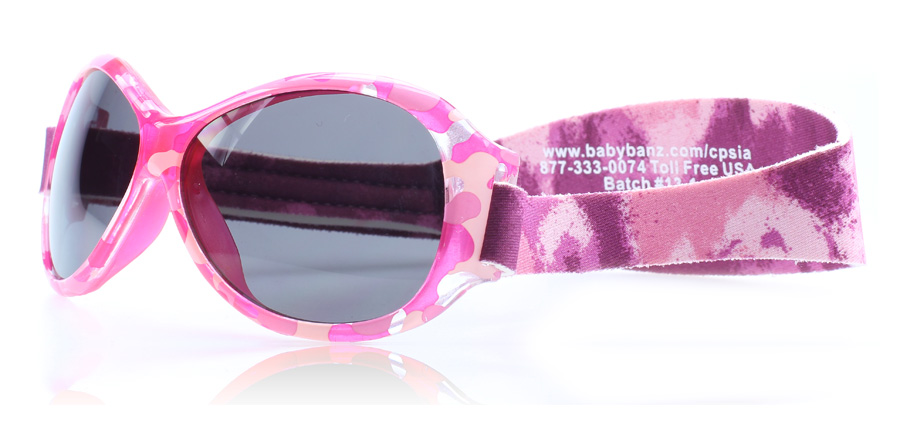 Image of   Baby Banz Adventure 0-2 Years Solbriller Pink Diva PD 55mm