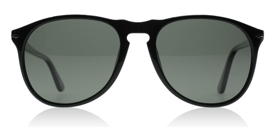 Persol PO9649S Sort 95/58 55mm Polariseret