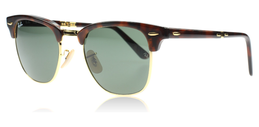 ray-ban-2176-clubmaster-folding-solbriller-rod-havana-990