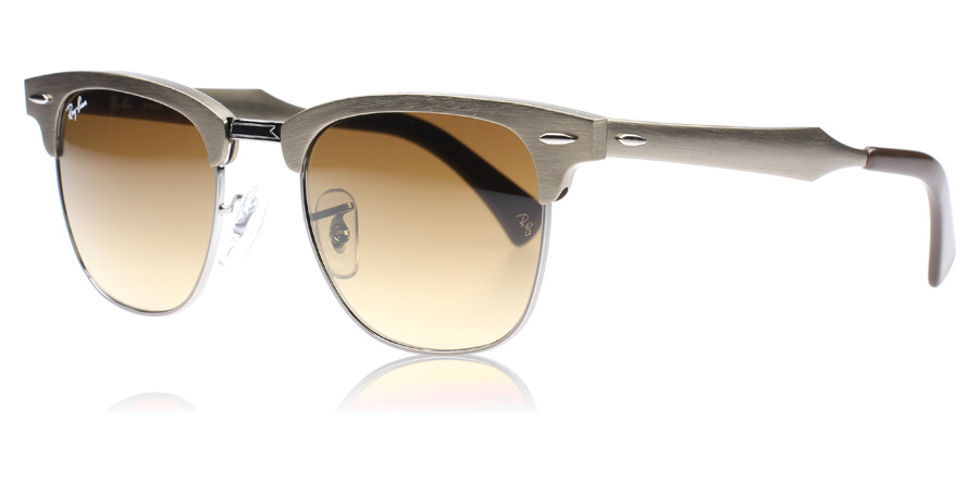 ray-ban-3507-clubmaster-aluminum-solbriller-borstet-bronze-13985-49