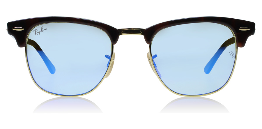 Ray-Ban Clubmaster RB3016 Tortoise 990-7Q 49mm