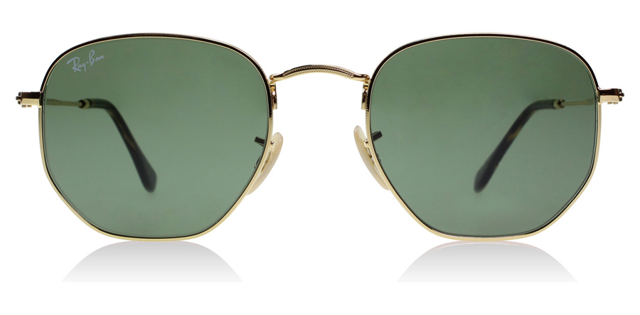 Ray-Ban Hexagonal RB3548N Guld/Tortoise 001 51mm