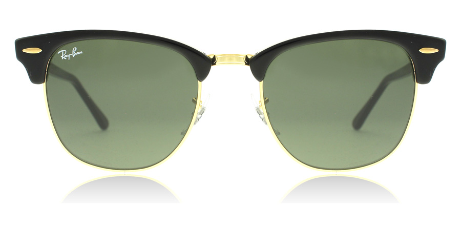 Ray-Ban RB3016 Sort / Guld W0365 49mm