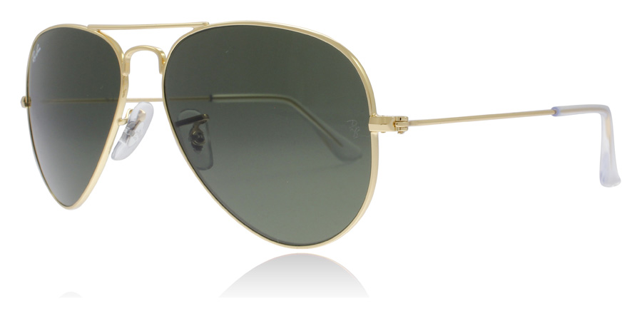 ray-ban-rb3025-solbriller-guld-w3234-55mm