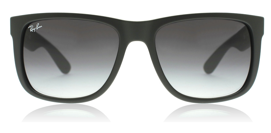 Ray-Ban Justin RB4165 Sort Gummi 601/8G 55mm
