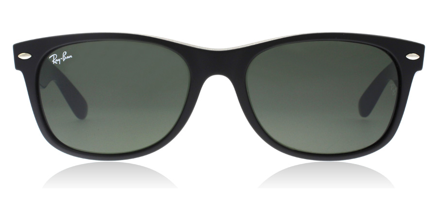 Ray-Ban RB2132 New Wayfarer Mat Sort 6182 52mm
