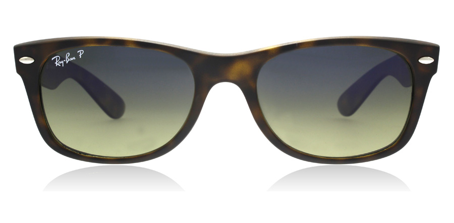 Ray-Ban RB2132 New Wayfarer Mat Havana 894/76 55mm Polariseret