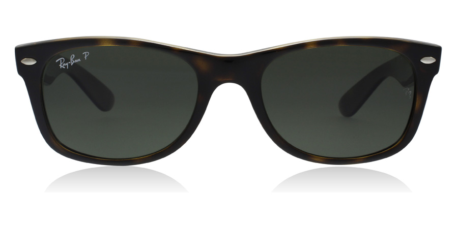 Ray-Ban RB2132 New Wayfarer Tortoise 902/58 52mm Polariseret