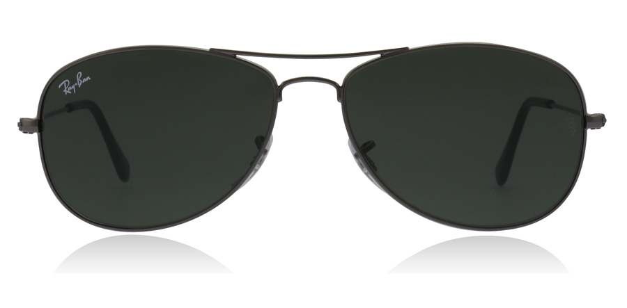 Ray-Ban RB3362 Cockpit Stålfarvet 004 59mm