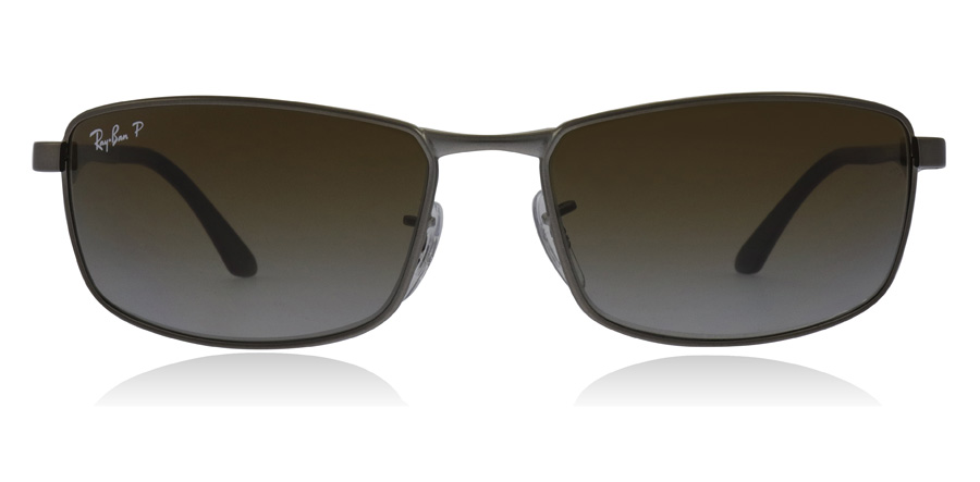 Ray-Ban RB3498 Mat Stålfarvet 029/T5 61mm Polariseret