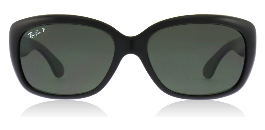 Ray-Ban Jackie Ohh RB4101 Sort Krystal 601/58 58mm Polariseret