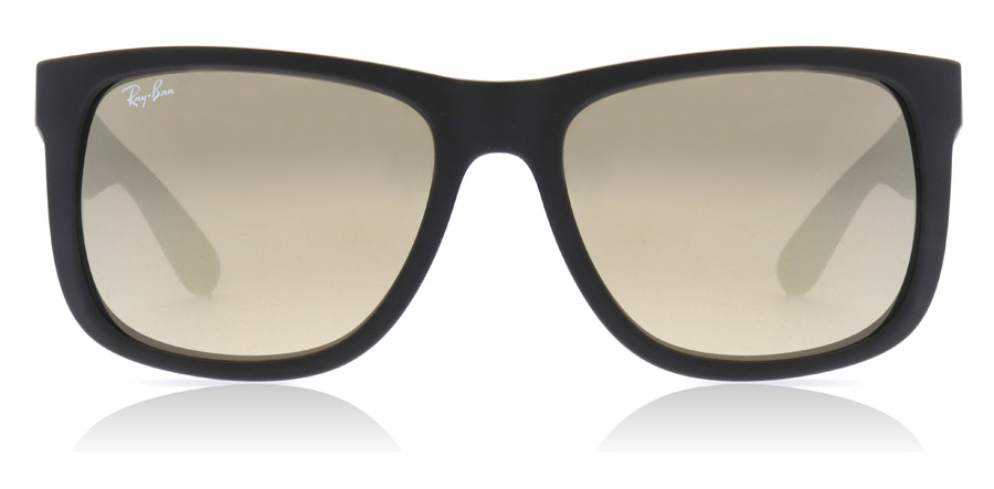 Ray-Ban Justin RB4165 Gummi Sort 622/5A 55mm