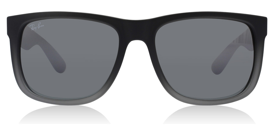 Ray-Ban Justin RB4165 Gummi Grå / Transparent 852/88 51mm