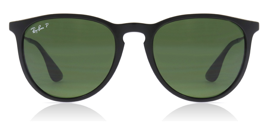 Ray-Ban Erika RB4171 Sort 601/2P 54mm Polariseret