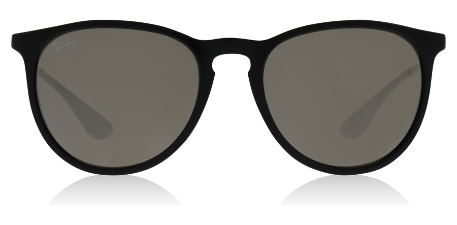 Ray-Ban Erika RB4171 Blank Sort / Sølv 601/5A 54mm