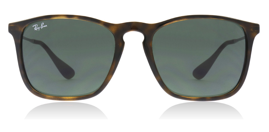 Ray-Ban Chris 4187 RB4187 Tortoise Stålfarvet 710/71 54mm