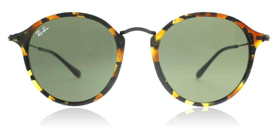 Ray-Ban RB2447 Plettet Sort Havana 1157 49mm