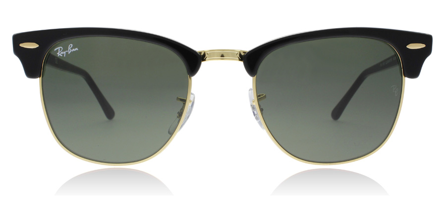 Ray-Ban Clubmaster RB3016 Sort W0365 51mm